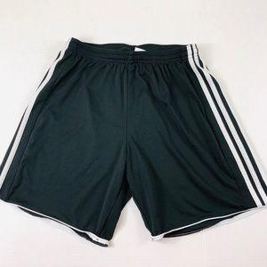 Adidas Black Climacool Three Stripe Shorts Size M